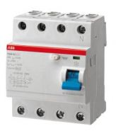 УЗО ABB 4-пол. 4мод F204 AC-100/0,3