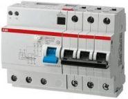 Дифф. авт. ABB 4-пол. DS204 AC-C50/0,03 8мод.