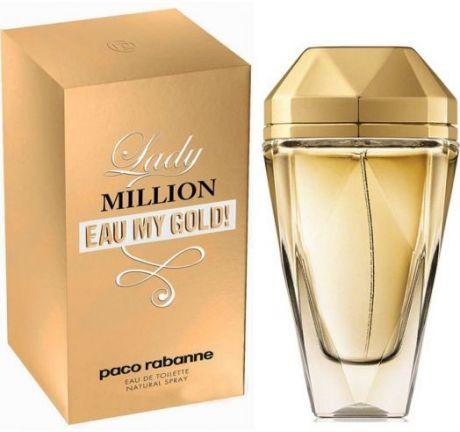 "Туалетная вода Paco Rabanne ""Lady Million Eau My Gold!"", 80 ml"