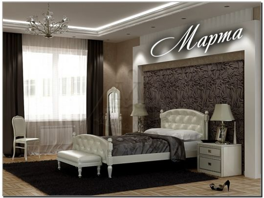 Кровать Стефани мягкая