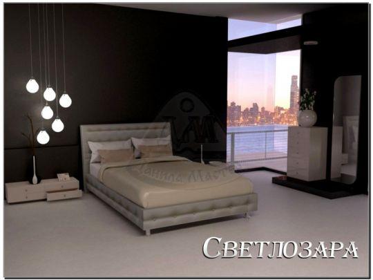 Кровать Светлозара мягкая