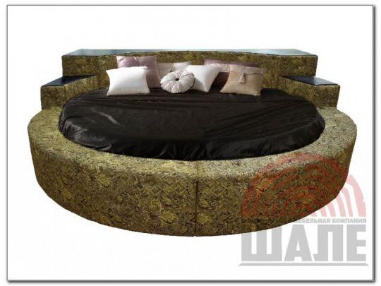 Кровать круглая Элоиза-2 мягкая