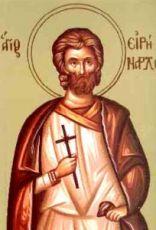 Иринарх Севастийский (рукописная икона)
