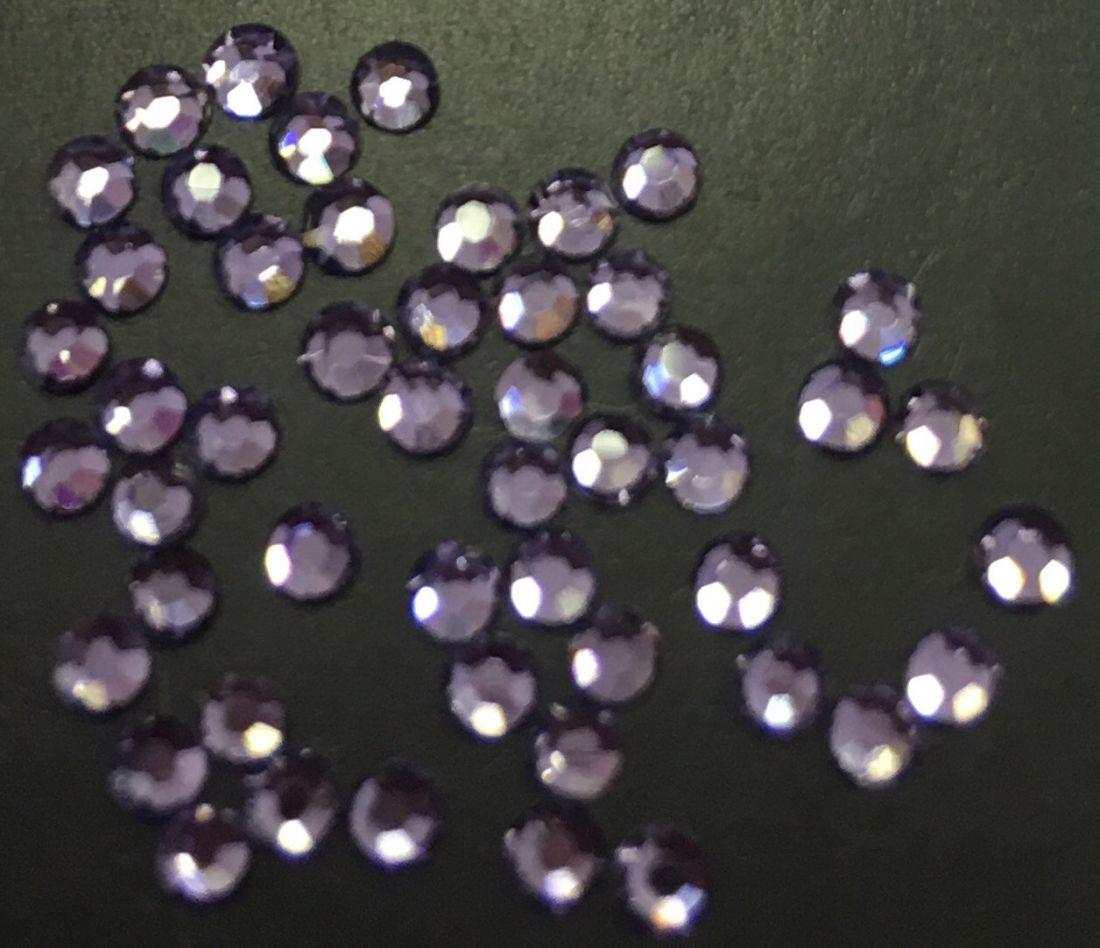 Стразы SS6/2,06мм стекло плоские (Lavender) уп/50ш