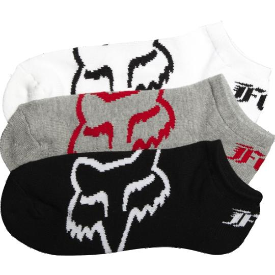 Fox - Core No Show Socks носки, белые (3 пары)