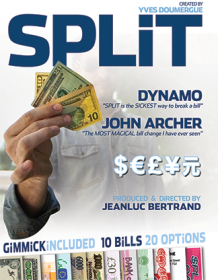 Split (Gimmicks and Online Instructions) by Yves Doumergue and JeanLuc Bertrand