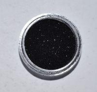 Меланж (втирка) для дизайна ногтей (черный), 1 грамм