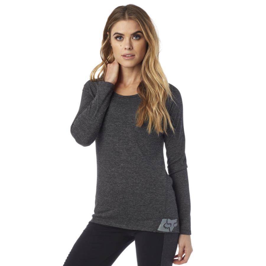 Fox - Certain LS Tee футболка женская, черная