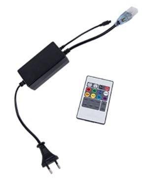 Ecola Контроллер 220V 16x8 1000W 4.5A RGB с ИК пультом CR161KESB