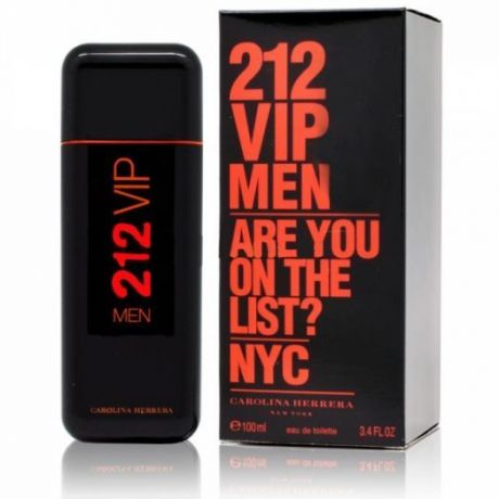 "Туалетная вода Carolina Herrera ""212 VIP Limited Edition Men"", 100 ml"