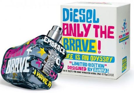 """Туалетная вода Diesel """"Only The Brave Life is an Odyssey"""", 75 ml"""