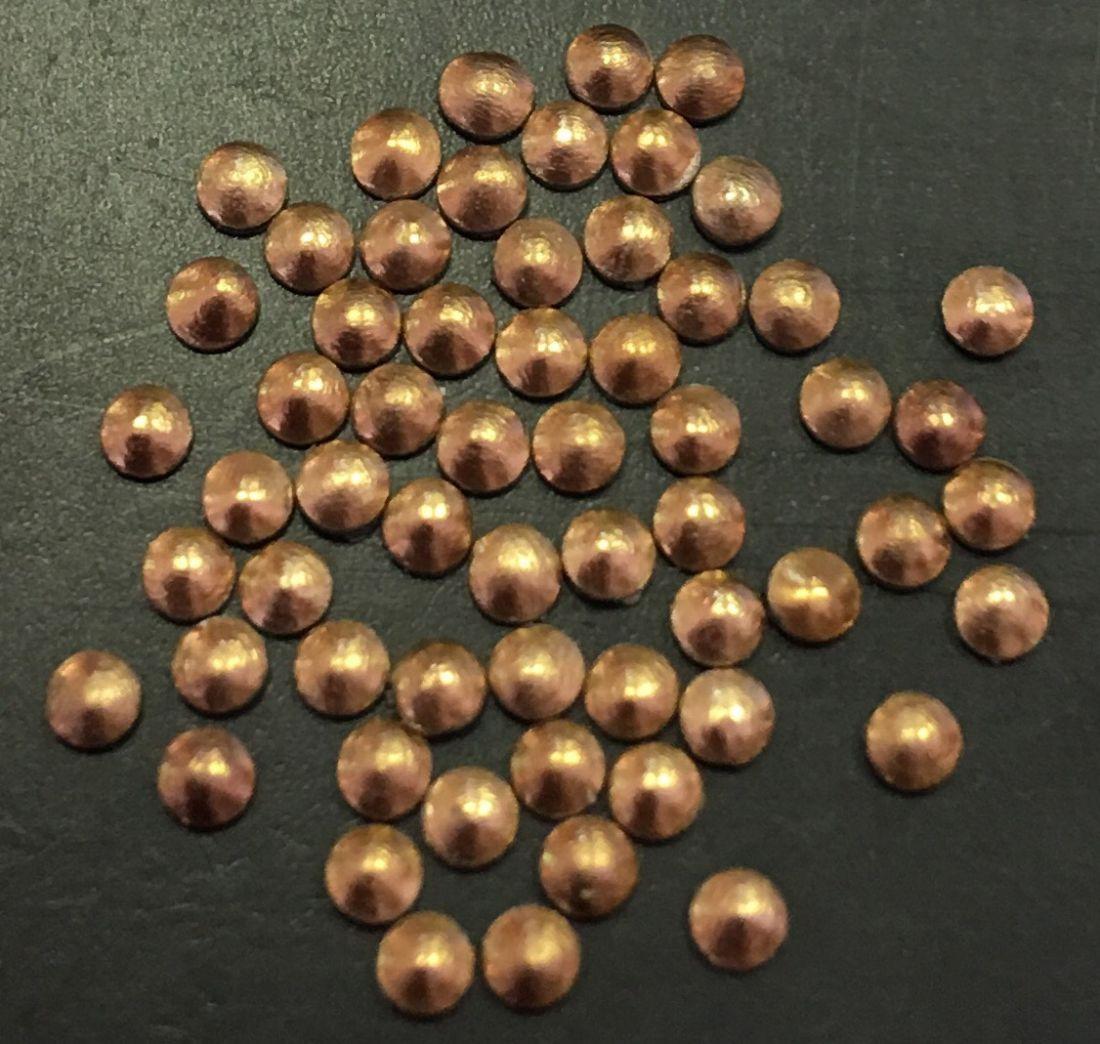 монетки металлические для дизайна 50шт. (медь)