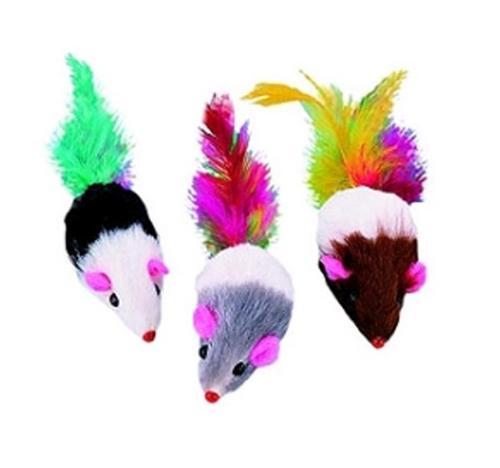Мышка с перьями