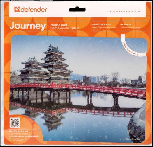 """Коврик для компьютерной мыши Defender Journey """"Matsumoto"""""""