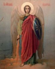 Икона Михаил Архангел (копия старинной)