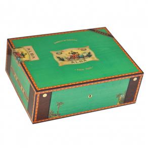 Хьюмидор Elie Bleu Альба на 75 сигар Green Pistachio Sycamore