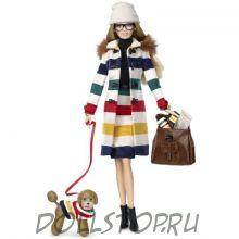 Коллекционная кукла Барби  Гудзонов залив - Hudson's Bay Barbie doll 2016
