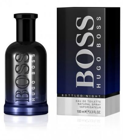 "Туалетная вода Hugo Boss ""Bottled Night"", 100 ml"