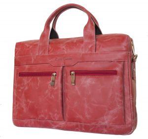 Сумка для ноутбука Carlo Gattini Lugano red