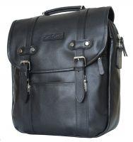 Кожаная сумка-рюкзак Carlo Gattini Tronto black