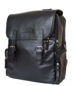 Кожаный рюкзак Carlo Gattini Santerno black