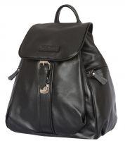 Женский кожаный рюкзак Carlo Gattini Aventino black