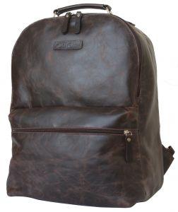 Кожаный рюкзак для ноутбука Carlo Gattini Tellaro brown