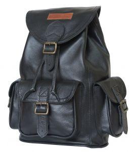 Женский кожаный рюкзак Carlo Gattini Velona black