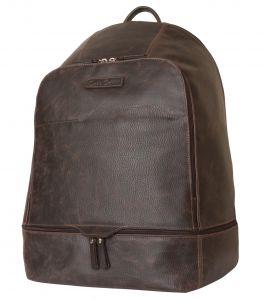 Кожаный рюкзак Carlo Gattini Merlengo brown