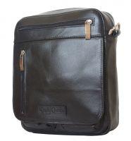 Кожаная мужская сумка Carlo Gattini Tanaro black