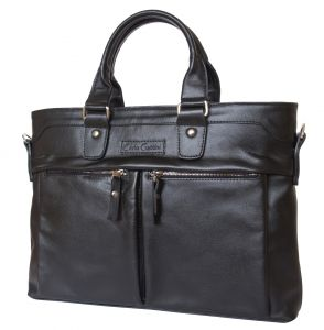 Кожаная мужская сумка Carlo Gattini Talponera black