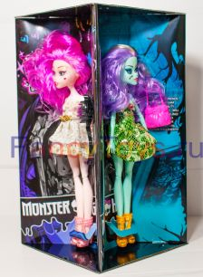 Набор из 4-х кукол – героинь мультсериала Monster High «Школа монстров»