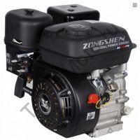 Zongshen (Зонгшен) ZS 168 FB-4 четырехтактный бензиновый китайский двигатель с понижающим редуктром 1/2 и автоматическим сцеплением, мощностью 6,5 л.с., диаметр вала 22,0 мм.