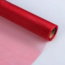 Органза-снег в рулоне, бордовый, 0,47*10 м