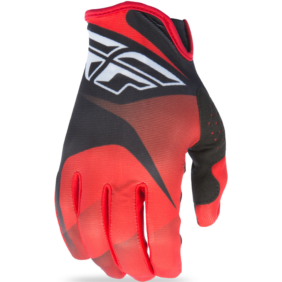 FLY - 2017 Lite перчатки, красно-черно-белые
