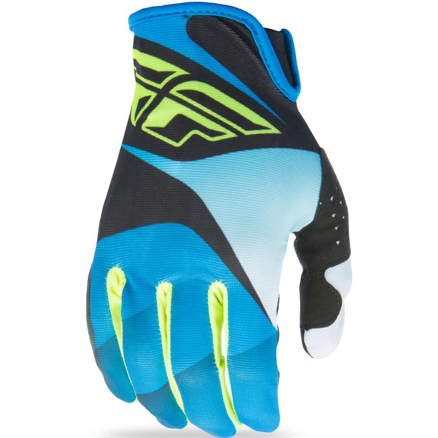 FLY - 2017 Lite перчатки, сине-черные-HI-VIS