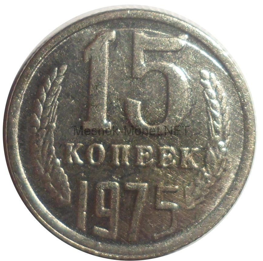 Копия монеты 15 копеек 1975 года
