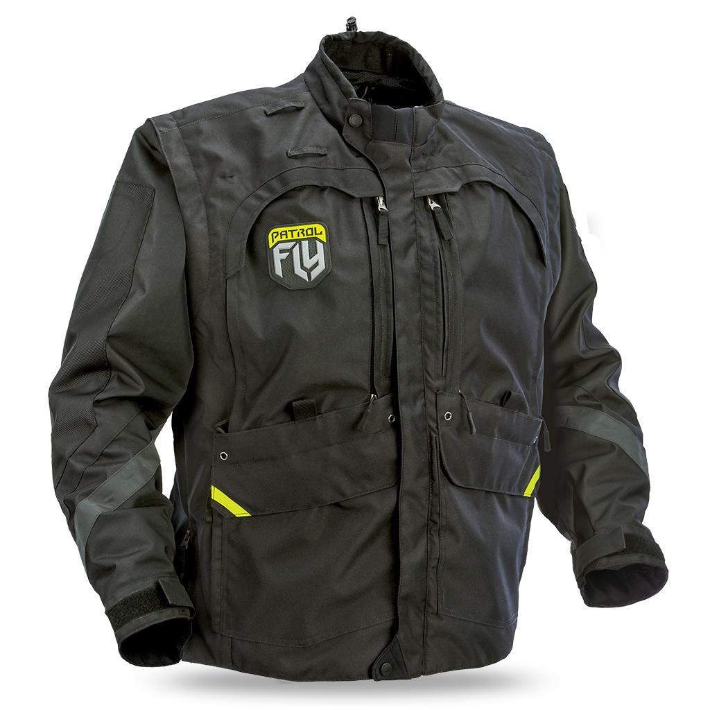 FLY - 2017 Patrol куртка, черная
