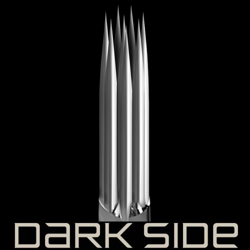 SALE Dark Side Round Shader 0.35 Long Taper 5шт