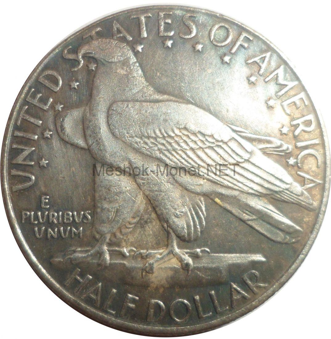Копия монеты 50 центов 1935 года 300 лет штату Коннектикут