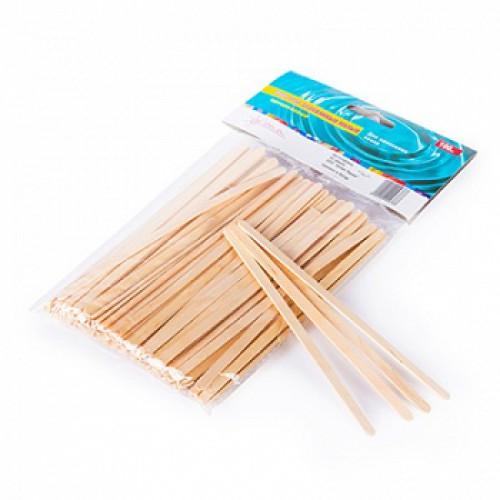 Шпатель деревянный для депиляции уп/10шт (тонкие)