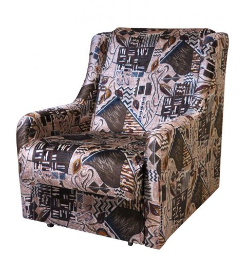 Кресло-кровать Аккордеон флок узор