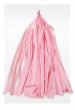 Гирлянда Тассел, светло-розовая, 3м, 10 листов