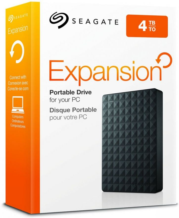 Жесткий диск Seagate Expansion 4Tb STEA4000400