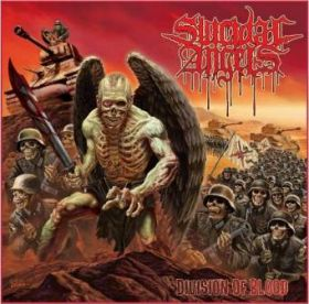 "SUICIDAL ANGELS ""Division Of Blood"" [CD/DVD]"