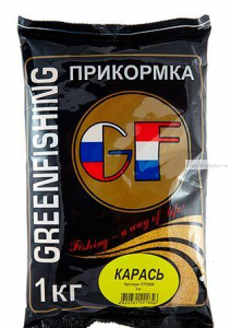Прикормка Greenfishing GF Карась 1кг