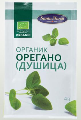 САНТА-МАРИЯ Орегано (душица) органик 4 г