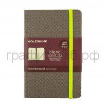 Книжка зап.Moleskine Pocket BLEND линейка фиолет. LCBDMM710H