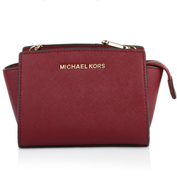 Michael Kors Selma Mini (bordo)