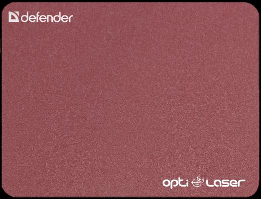 Коврик для компьютерной мыши Defender Silver opti-laser (красный)